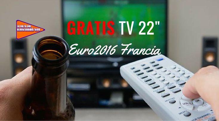 """Sorteamos una TV 22"""" ideal para no perderte la EUROCOPA 2016 desde tu cocina!"""