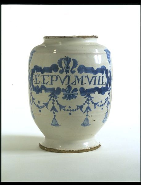 Drug jar | Brislington pottery | V&A Search the Collections