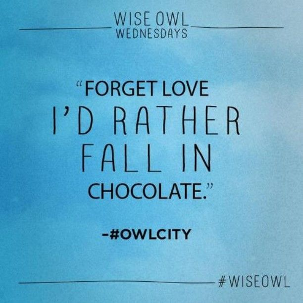Yep, that is so true! -Owl City