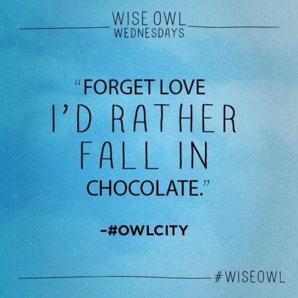 Yep, that is so true! -Owl City