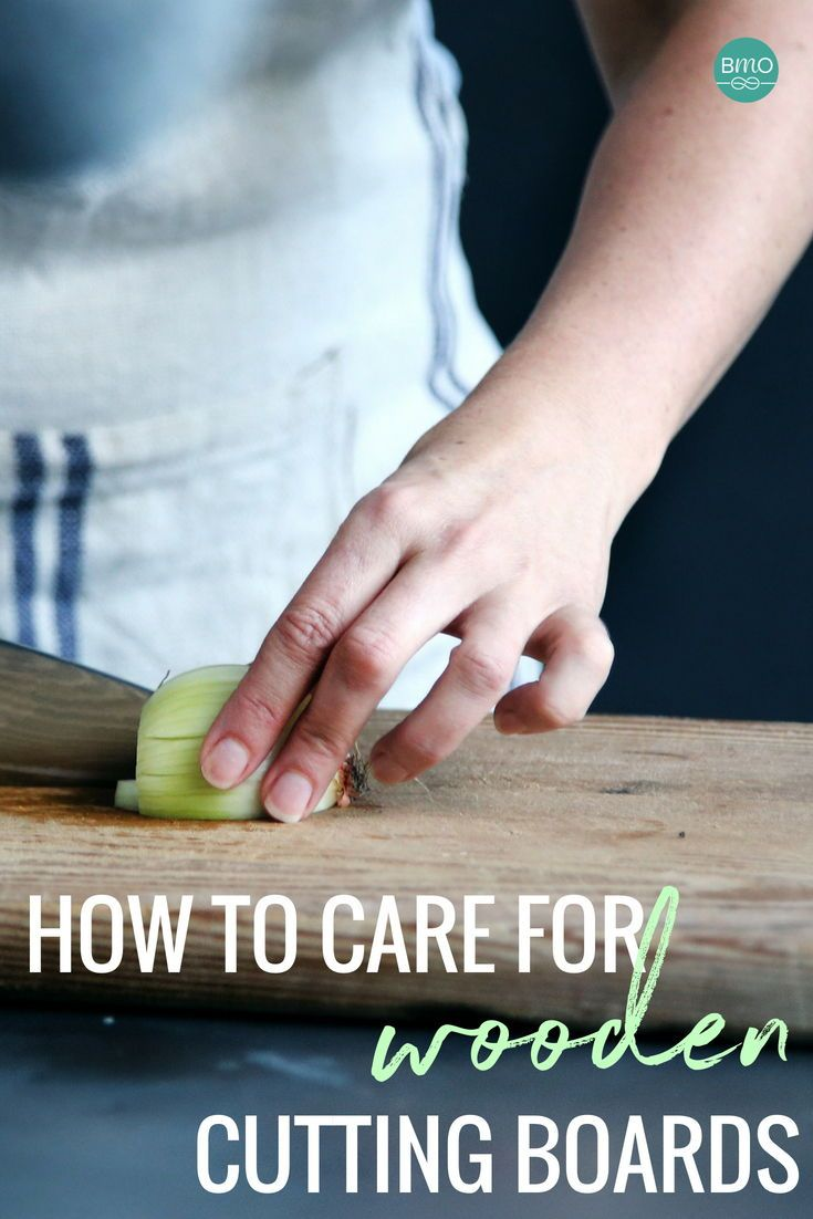 How to Care for Your Wooden Cutting Board