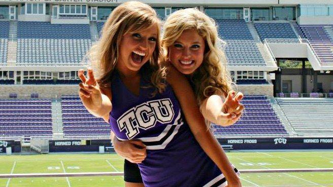 Cheerleader coed college picture upskirt