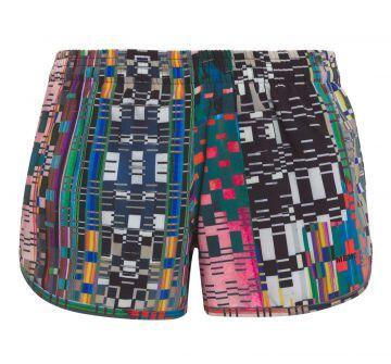 MEMO SHORT FEMININO RUN FULL PRINT - VERDE  - Shorts Feminino Run Full Print, Memo. O shorts estampadoé confeccionado em tactel, possui cintura em elástico, estampa e comprimento curto. Compre Shorts Memo no Online Marketplace Shop2gether. SKU:07.07.0081CRASH Composição: 100% Poliéster / Forro: 92% Poliamida 8% Elastano Cor: Crash Marca: Memo
