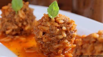 Мясные тефтели с рисом Рецепт для взрослых и детей от любимого шеф-повара Уриэля – его жены!