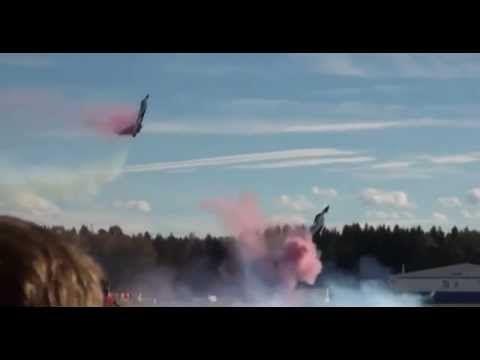 Америка и  в ШОКЕ!! Российское НЛО реактивных истребителей 2014! Ame...