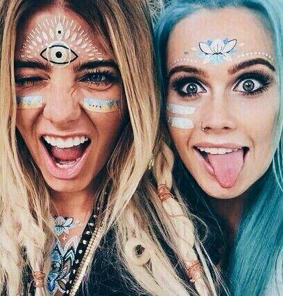 Maquiagens para usar no Tomorrowland Brasil
