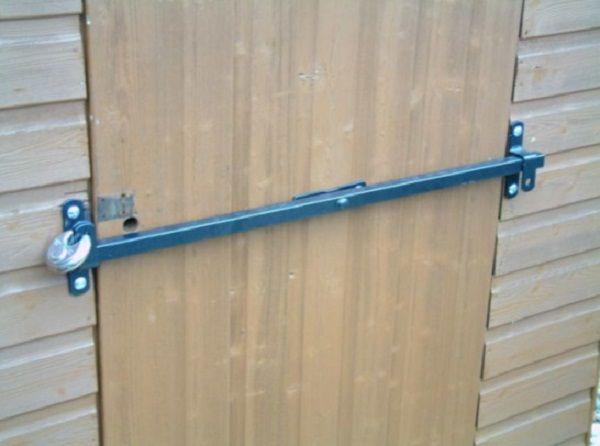 Security Bar For Front Door Designs Plans