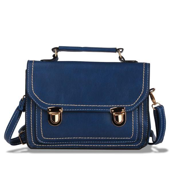 İki Tokalı Postacı Çanta #canta #şık #kadın #moda #trend #bag #women #shoulderbag #elegant #dressy #fashion