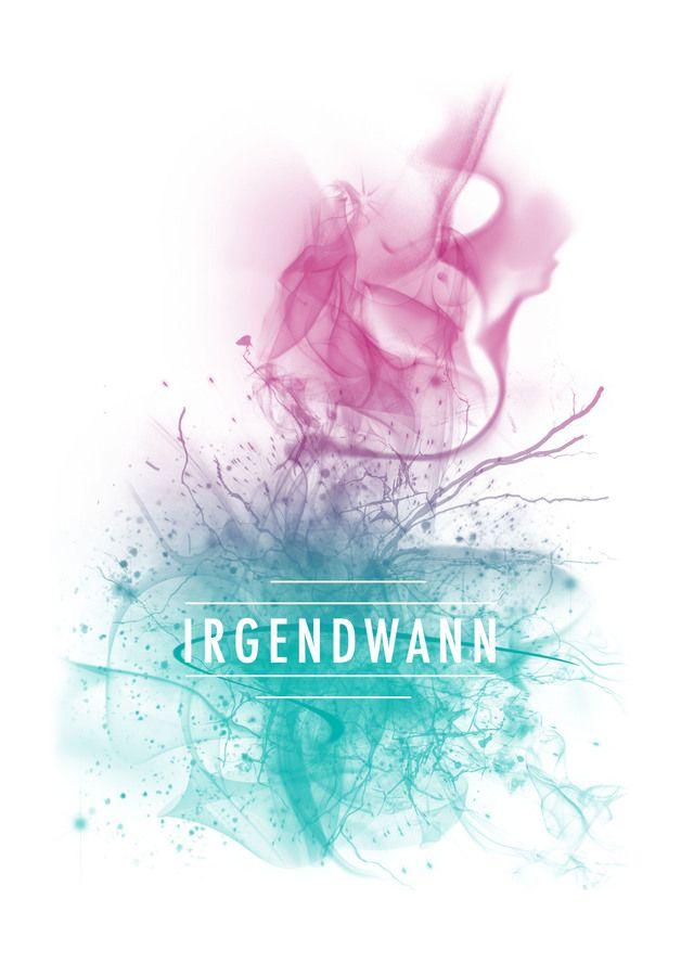 """Poster """"Irgendwann"""" // poster by Millimeter nah & Meilenweit weg via DaWanda.com"""