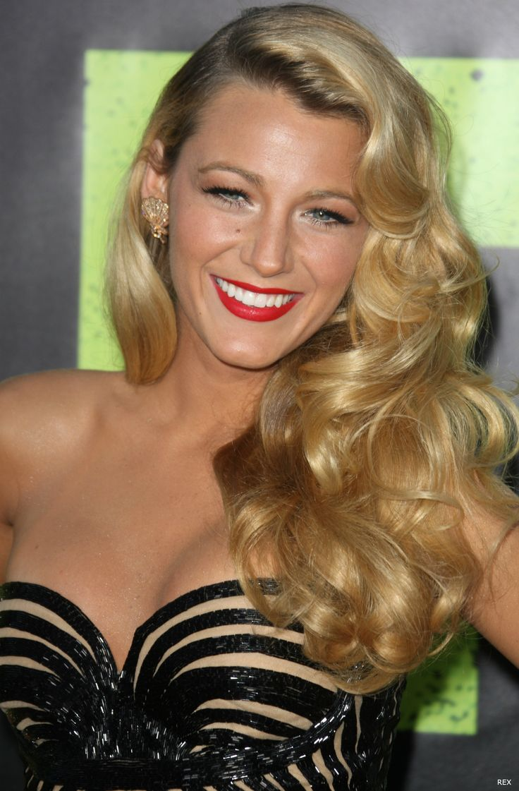 blake lively like rita hayworth and veronica lake with