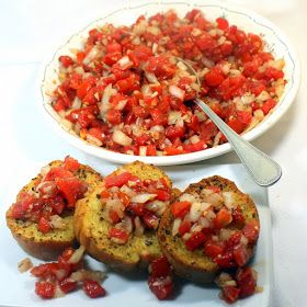 52 Ways to Cook: Garden Fresh Tomato Bruschetta - 52 Appetizer Authentic Italian Catering Recipes