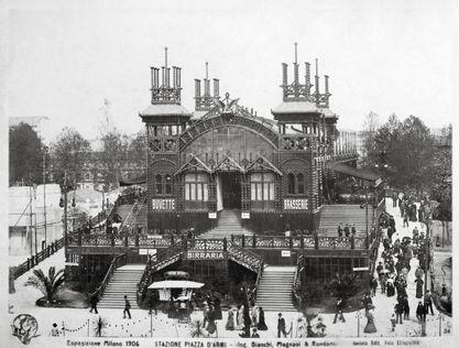 I padiglioni dell'Esposizione del 1906 - Archivio Storico - Fondazione Fiera Milano
