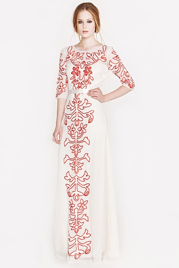 Alice by Temperley Resort 2013.: Temperley London, Fashion, Style, Dresses, Wedding Dress, Alice, Long Floria, Floria Dress