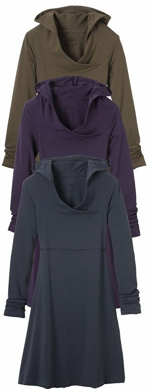 It's a hoodie. And a dress. I need all of them so I can wear them everyday this fall.