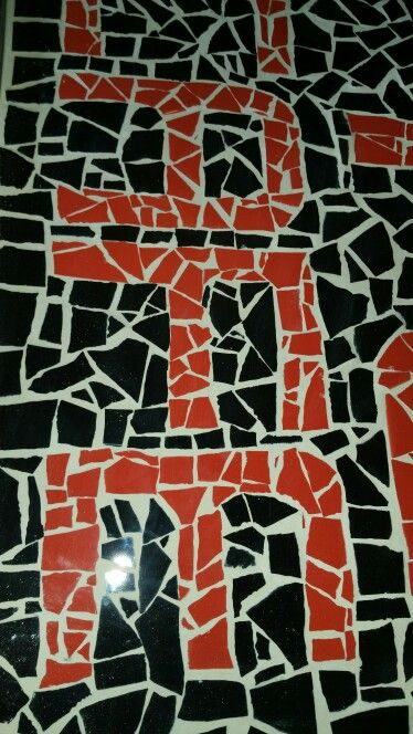 Grouted work