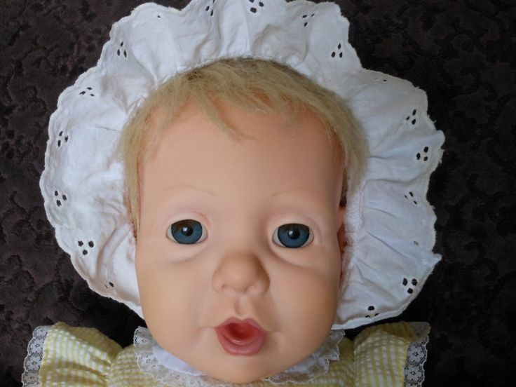 1985 Hasbro J Turner Quot Wide Eyed Real Baby Quot Real Baby