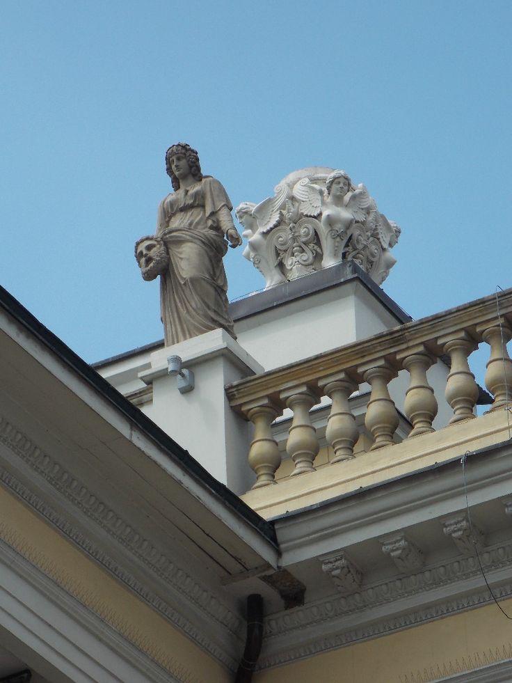 Budynek Opery Wrocławskiej.
