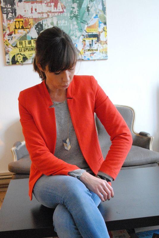 La veste, jolie coupe à un prix raisonnable chez Promod !