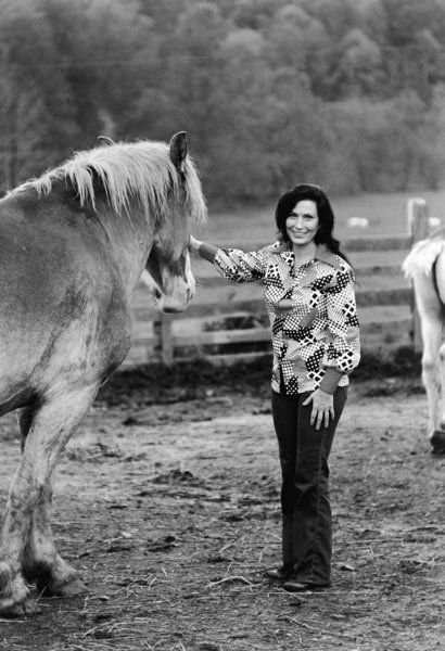 Loretta Lynn is my all time favorite singer and woman.