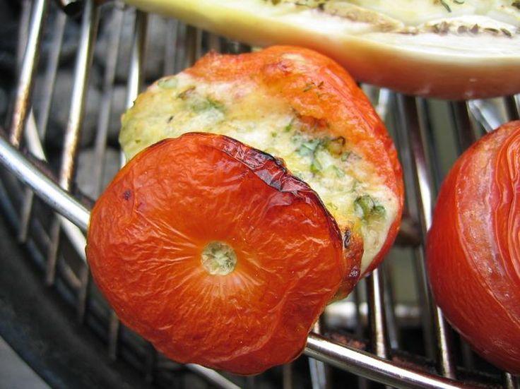 Rezept - Gegrillte Tomaten mit Mozzarella - Grillrezepte