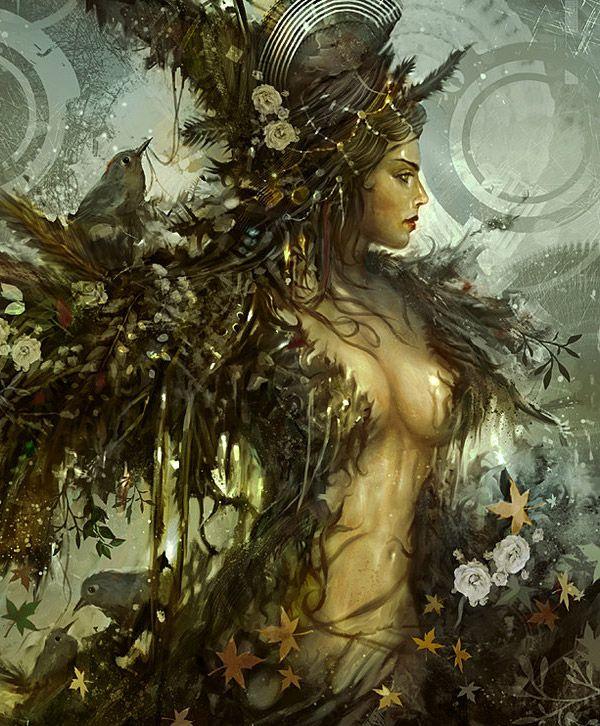 Digital art from Abduzeedo. #fantasy #art #female http://jgfollansbee.com