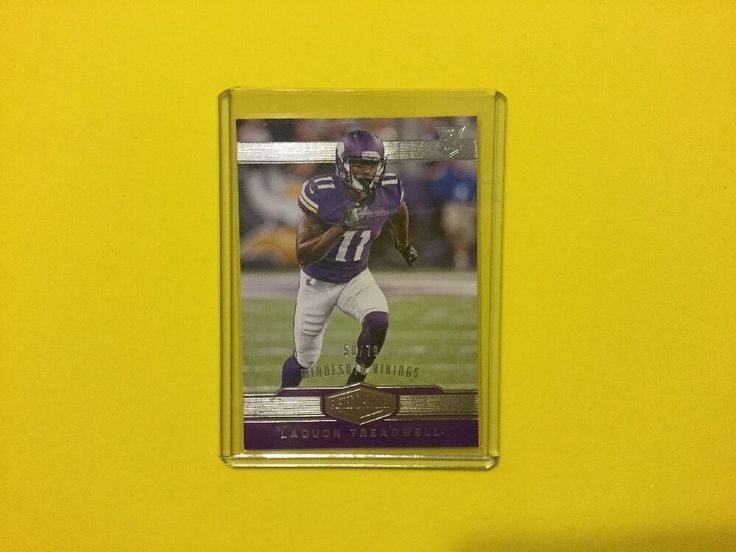 2016 Plates & Patches LAQUON TREADWELL 50/79 Rookie #MinnesotaVikings