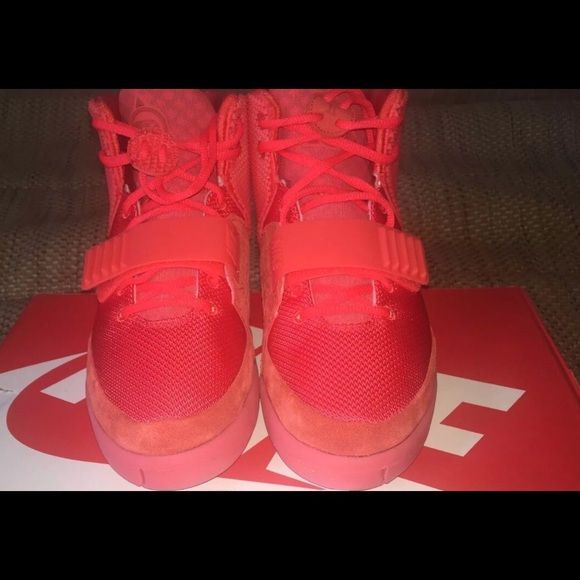 Yeezy Red October DS OG all. Size 8 and 10 in hand. Looking for trades or offer. PayPal ready. (Price listed isn't what I'd sell for.) Nike Shoes