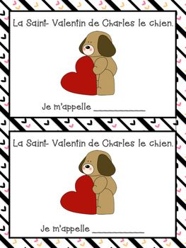 French Valentine's Day Short Story and questions