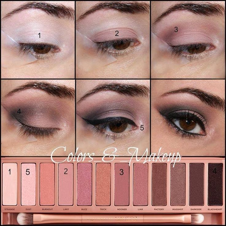 This perfect everyday eye makeup can be done with only 7 steps and Urban Decay's Naked 3 eye shadow palette. See the eye makeup pictorial and DIY.