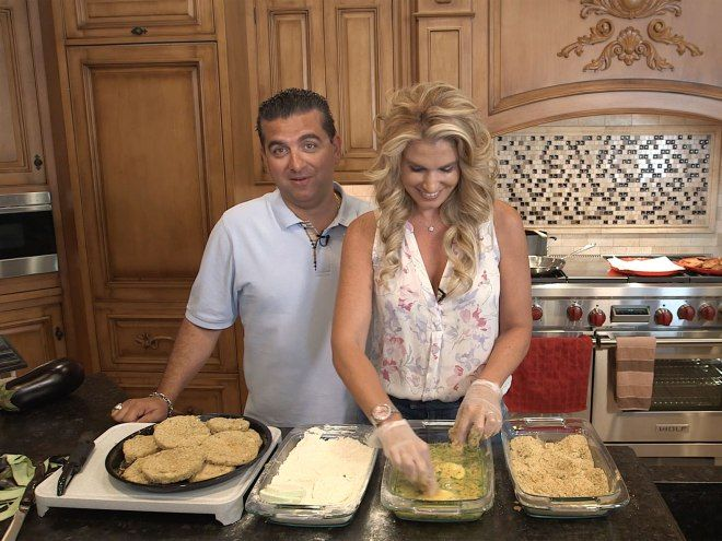 "Cake Boss Buddy Valastro may be known for his towering sweet confections, but on nights at home with his wife, Lisa, it's all about family-style Italian comfort food. ""Honestly, I don&#…"
