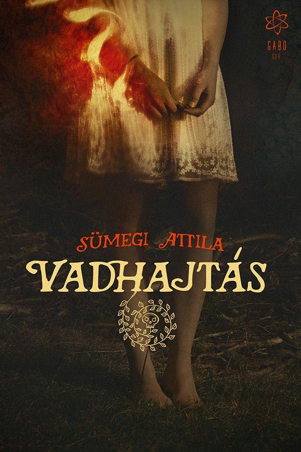 Vadhajtas ebook cover design by gaborcsigas