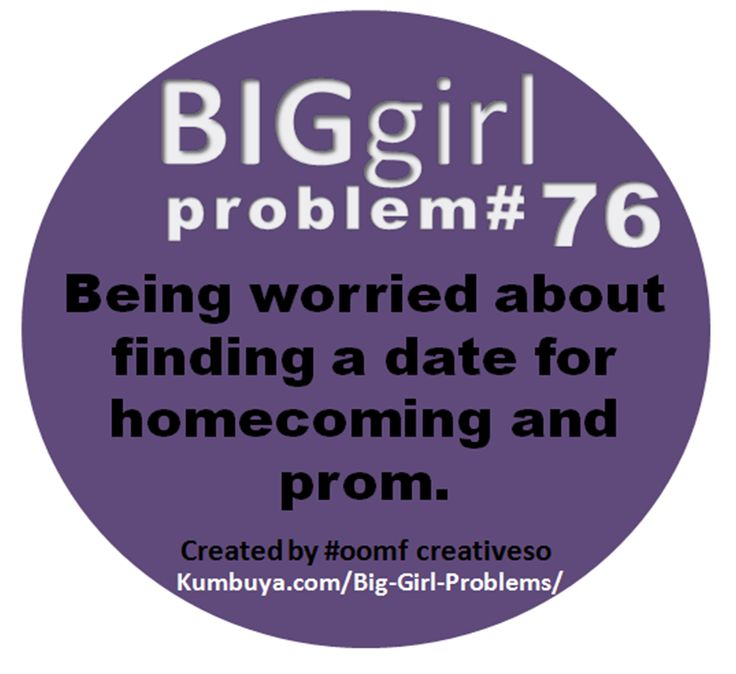 BIG girl problems • Join the BGP Tribe on Kumbuya :)
