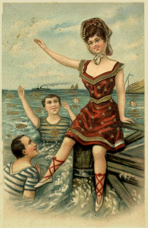 Postcard - the inspiration behind the Neutral Milk Hotel album cover