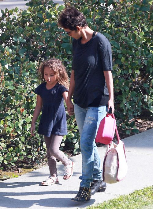 Halle Berry, Mother Daughter.