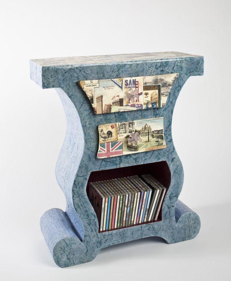 37 best meubles en carton cardboard furniture de kitty carton images on pinterest cardboard. Black Bedroom Furniture Sets. Home Design Ideas