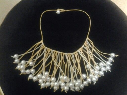 A summer necklece easy to wear