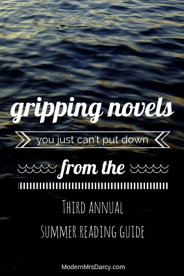 """Gripping novels--the page-turners that you just can't put down€""""that are perfect for summer reading."""