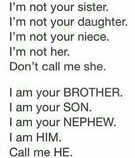 Ftm | I am a boy