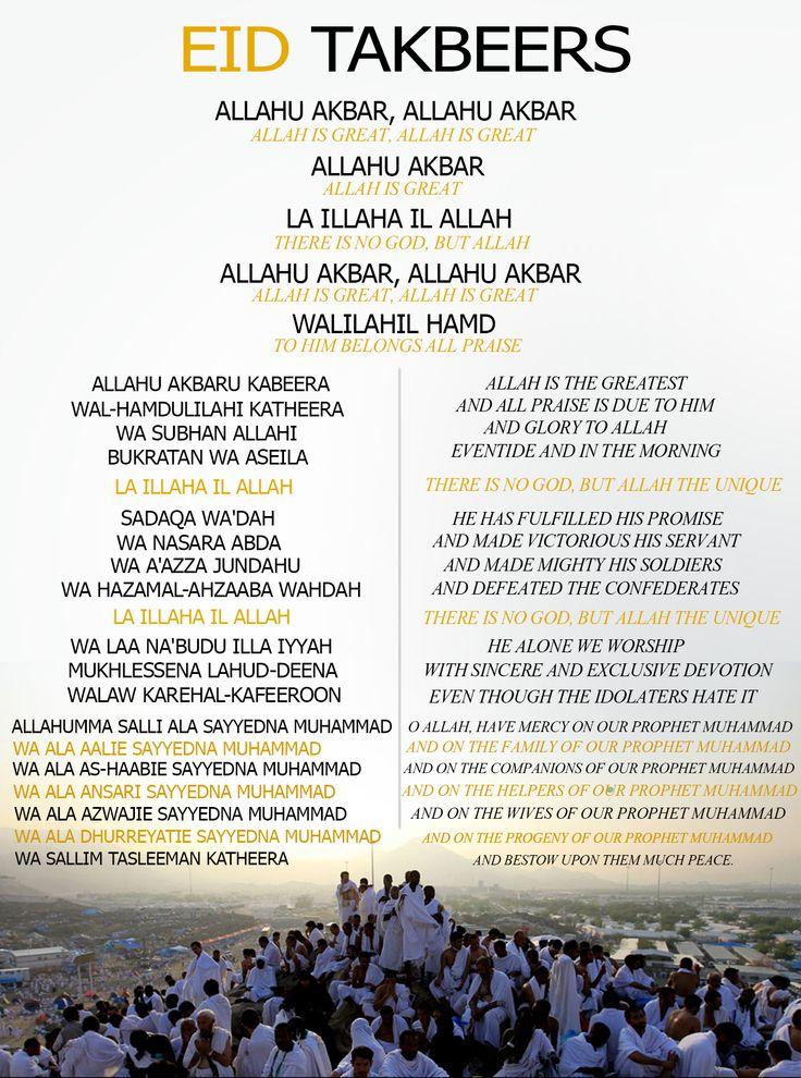 Eid Takbeers