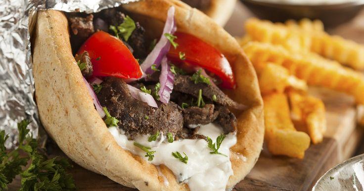 Recette - Sandwich grec ou Gyro   Notée 4.5/5