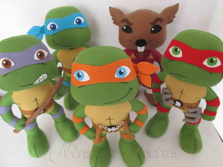 camiseta feltro tartaruga ninja - Pesquisa Google