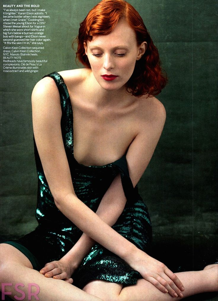 Erotic redhead gushing