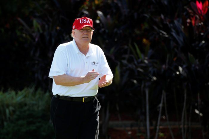 Trump Celebrates 100th Golf Trip As President By Throwing A Mar-A-Lago 'Victory' Fundraiser