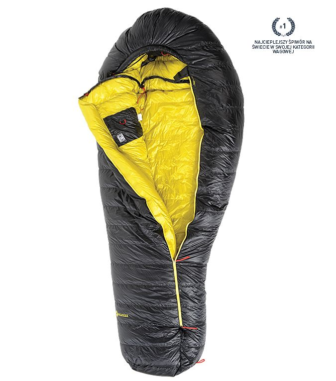 PAJAK RADICAL 16H - Down Sleeping Bag   Temperature Range EN 13537  -11 / -19 / -40 [C] 12.2 / -2.2 / -40 [F]  Compression rate 50:1  Fill / Fill volume Polish goose down 750 [Cu. in.] /  1.6 [lb]  Construction HH  Packing volume 11 [l] / 671.2 [cu.in.]