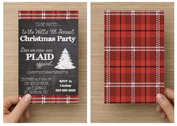Best 25 Christmas party invitations ideas – Holiday Party Invitation Ideas