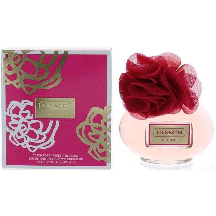 Coach Poppy Freesia Blossom Eau de Parfum Spray for Women, 3.4 Ounce
