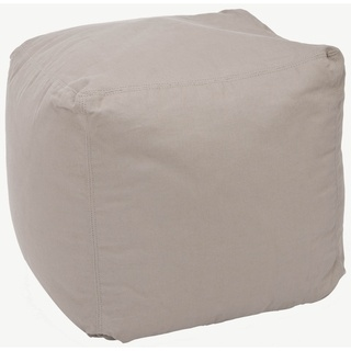 @Overstock - Add a retro look to any room with this square poof, beige bean bag. With a comfortable cotton cover, this poof bag will be great for movie-watching, book-reading or simply straight relaxing.http://www.overstock.com/Home-Garden/Square-Poof-Beige-Bean-Bag/5691011/product.html?CID=214117 $107.99