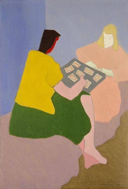 Milton Avery - The Card Players, 1945