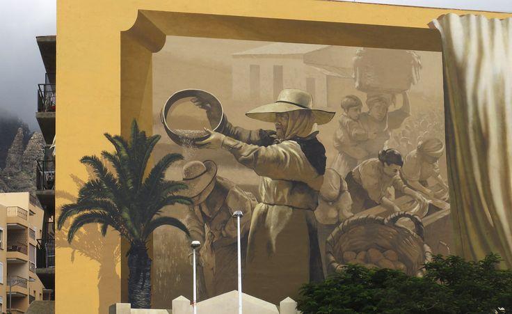 Art in Costa Adeje. Artist: Conrado Díaz Ruíz