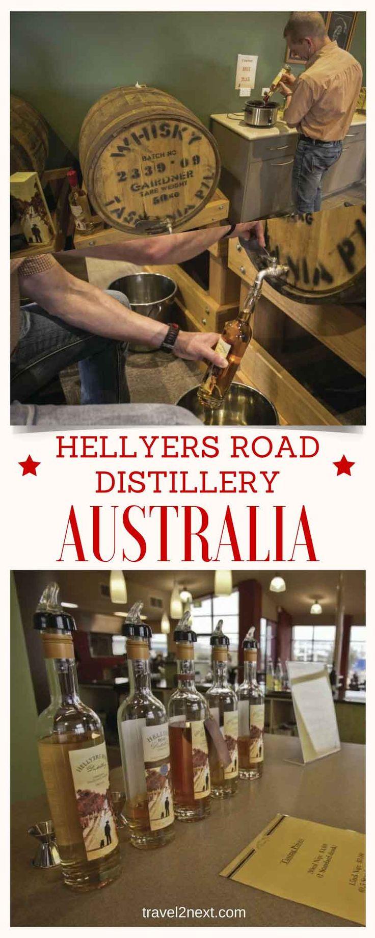 Hellyers Road Distillery – whisky in Tasmania
